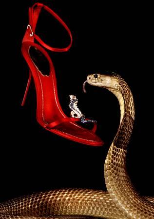 La cobra vigilante de los almacenes Harrods Cobra