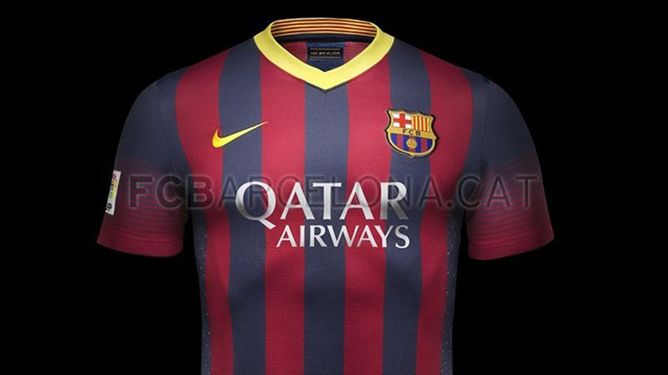 e0f4229dbe La nueva camiseta del Barça para la temporada 2013-2014