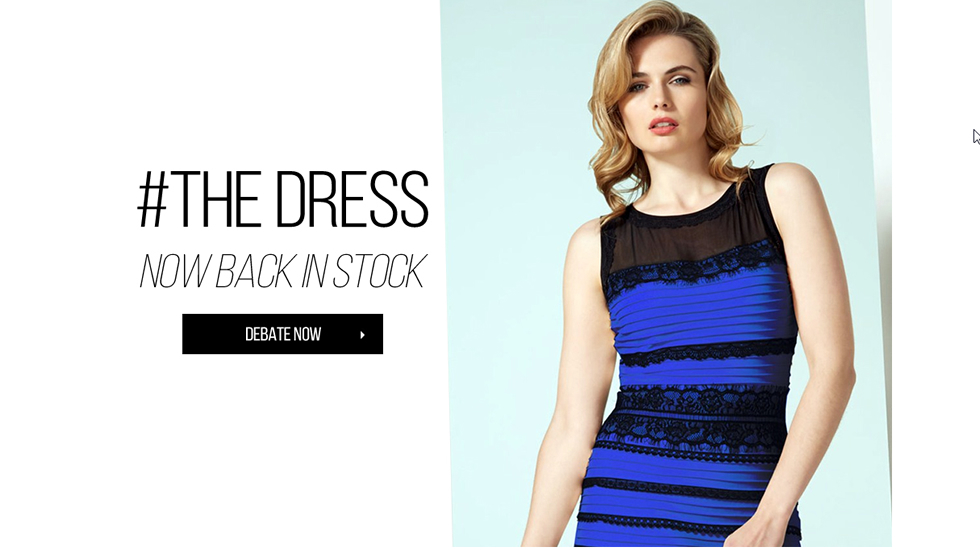 Vestido azul on negro