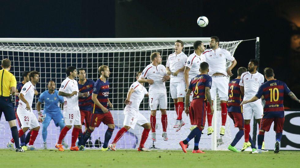 Barcelona 5 - Sevilla 4: La Supercopa de Europa 2015, en directo