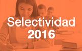 Selectividad 2016
