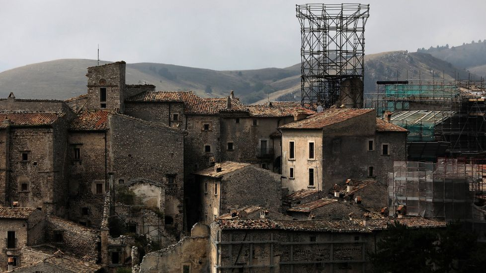 El centro de Italia, golpeado por una cadena de terremotos
