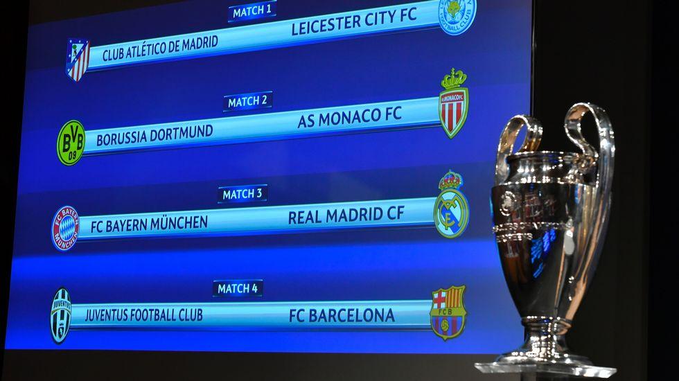 Bayern-Real Madrid, Juventus-Barça y Atlético-Leicester en ...