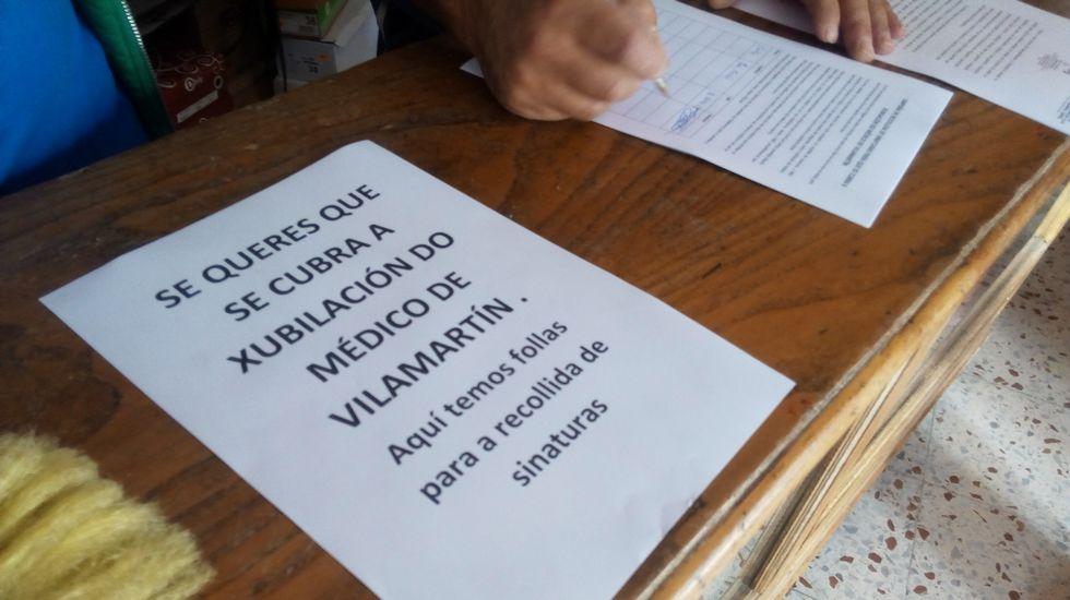 Inician una recogida de firmas pidiendo que se cubra la vacante de un médico en Vilamartín