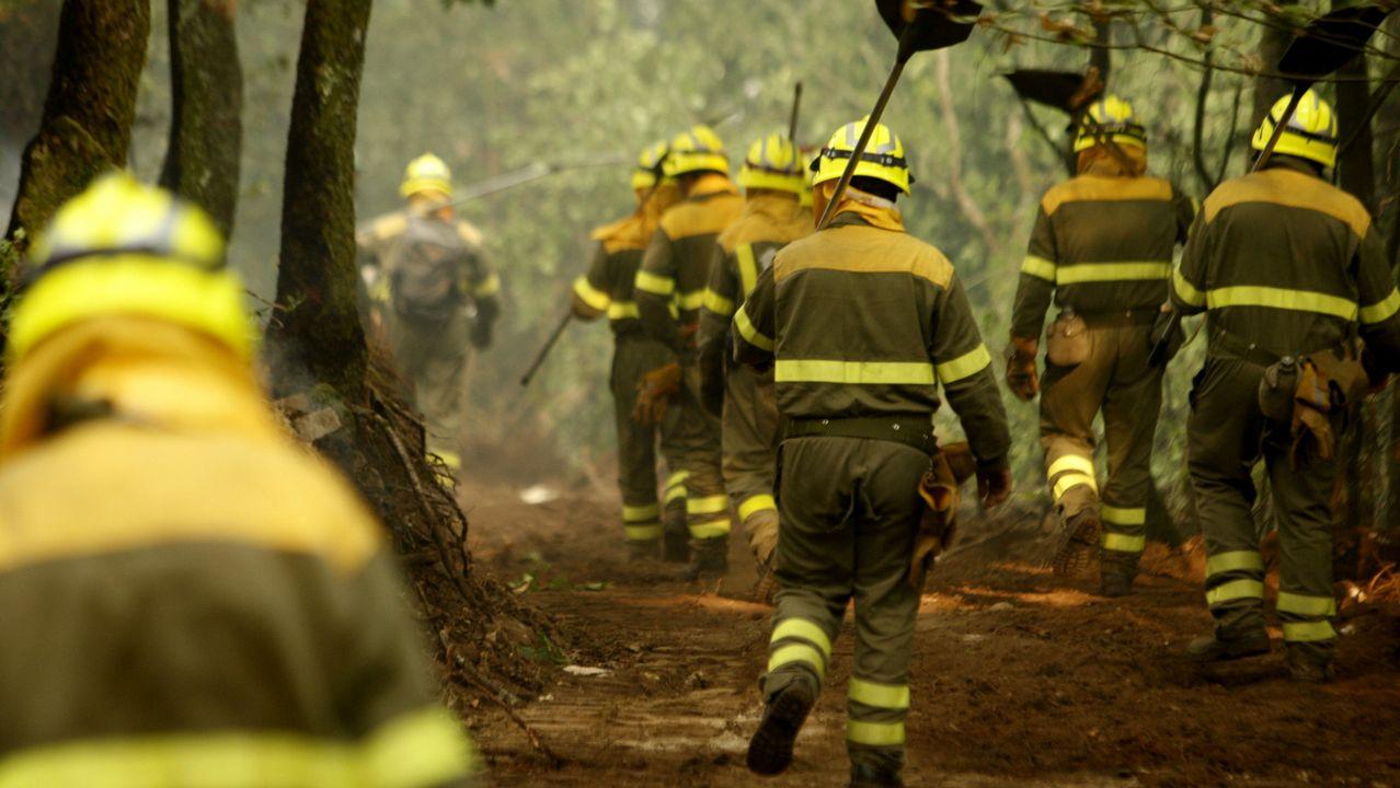 Más de 150 investigados este año por causar incendios forestales en Galicia