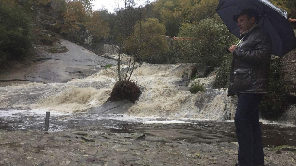El temporal en la comarca, en imágenes