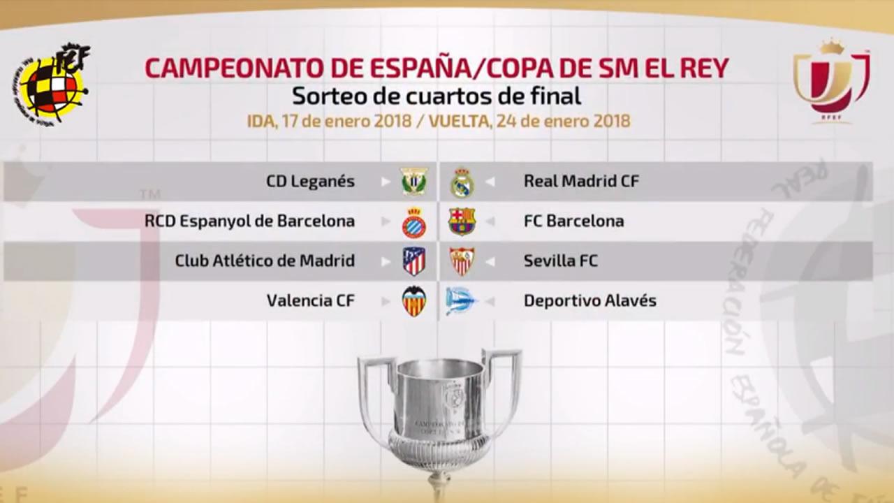 Leganés - Real Madrid y Espanyol - Barça, en cuartos de la ...
