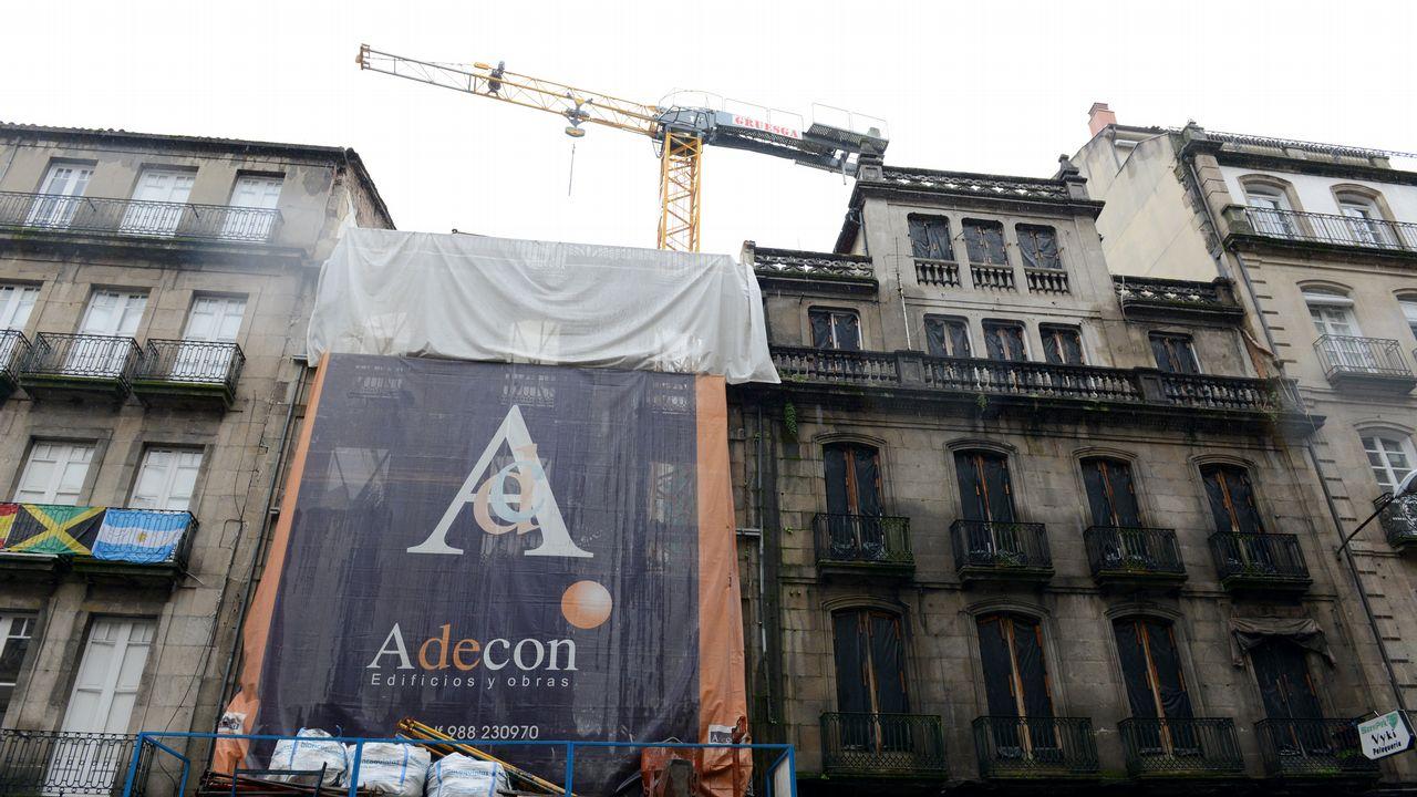 La edificación en Ourense está en mínimos y supone el 10 % de la gallega
