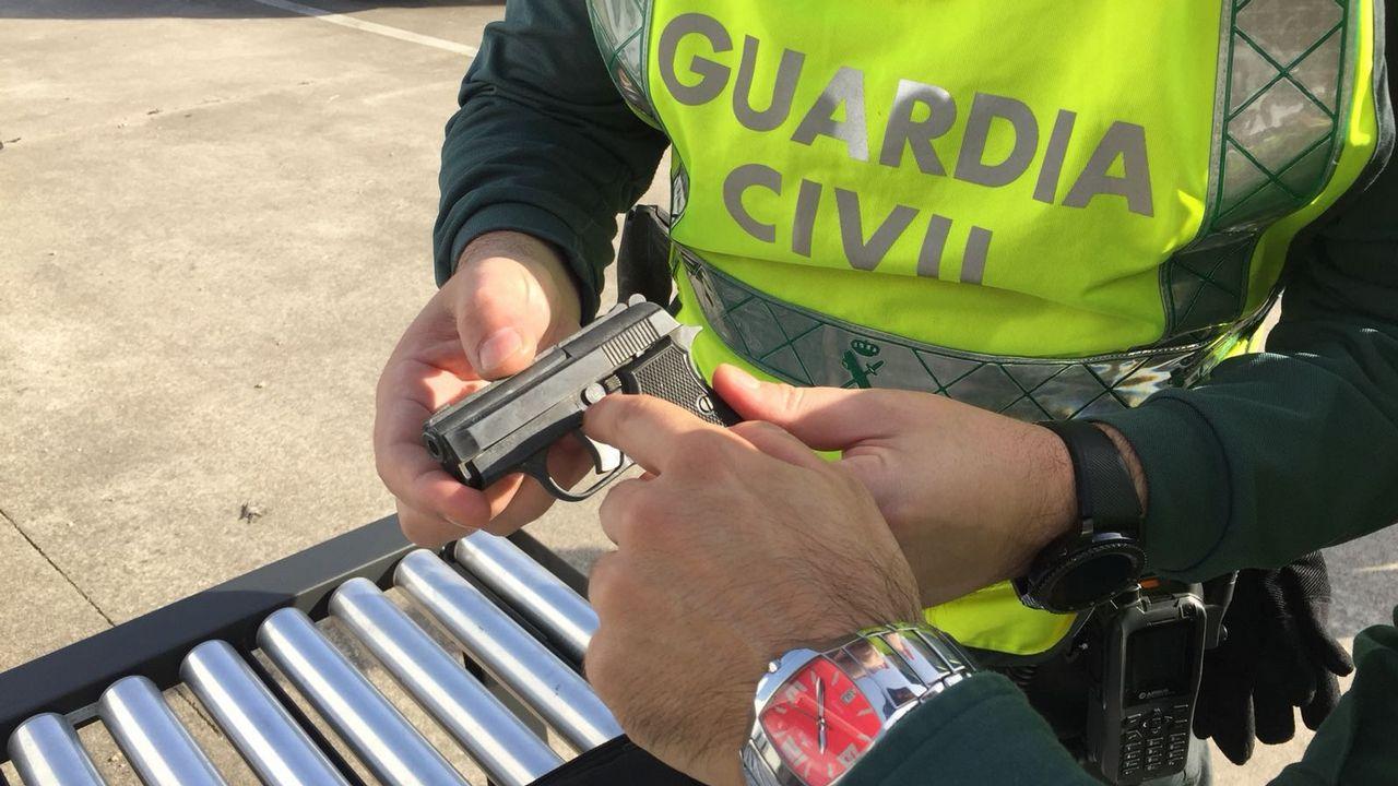 Contemporáneo Seguridad Pistola De Uñas Imagen - Ideas de Pintar de ...