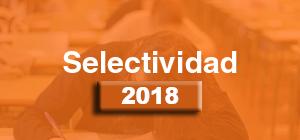 Selectividad 2018
