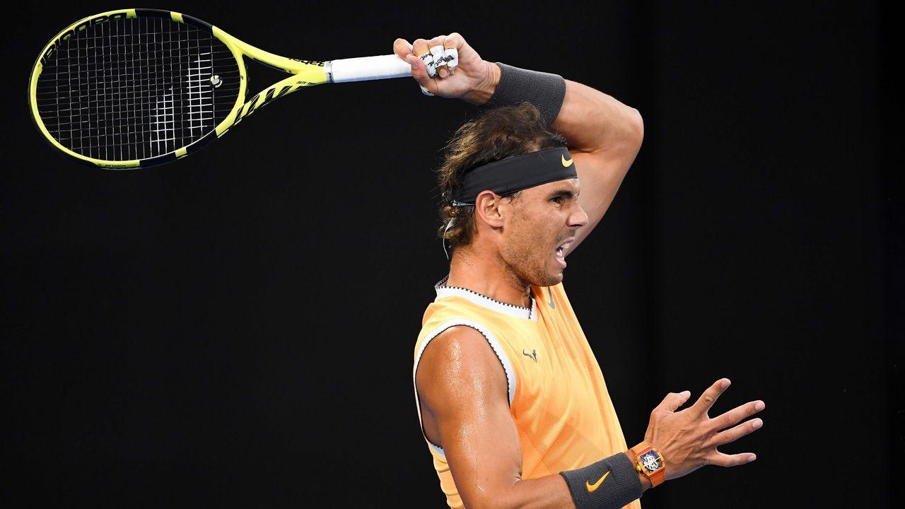 083d0f3568 Rafa Nadal vapulea a Álex De Miñaur en el Open de Australia y jugará contra  Berdych