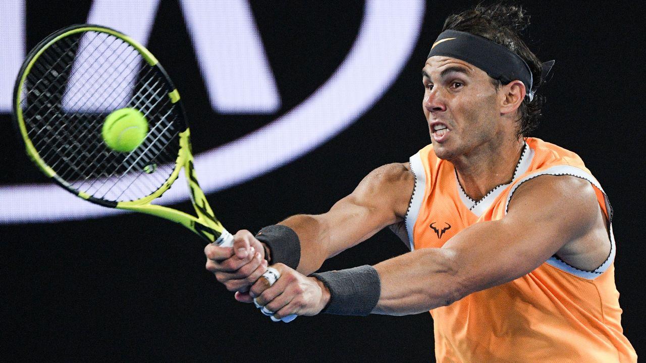 4006b56838 Rafa Nadal acelera en el Open de Australia tras someter a Frances Tiafoe