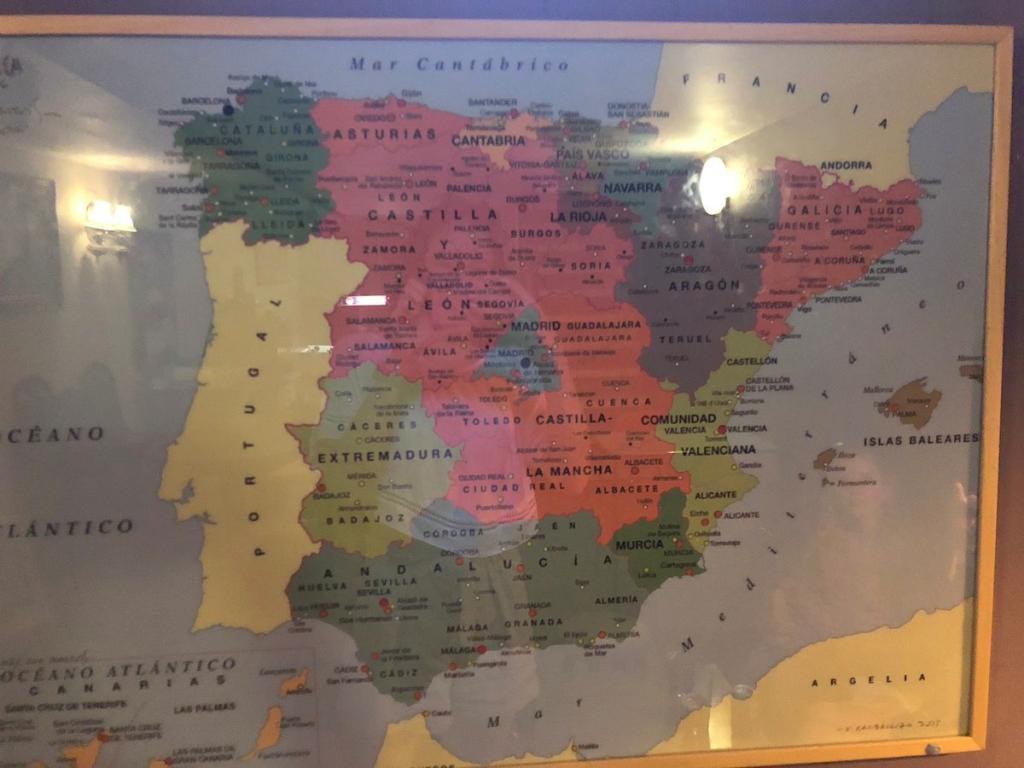 Mapa De Galicia España.El Mapa Viral Que Situa Galicia En Cataluna Es En Realidad