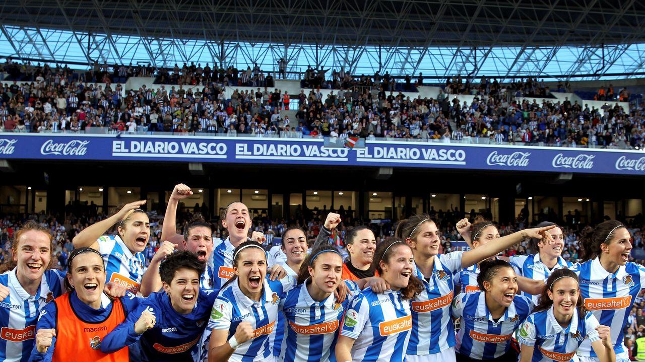 19.000 personas asisten a Anoeta a las semifinales de la Copa de la Reina.  EFE La Real Sociedad se clasificó por primera vez en ... f5283a74f2c