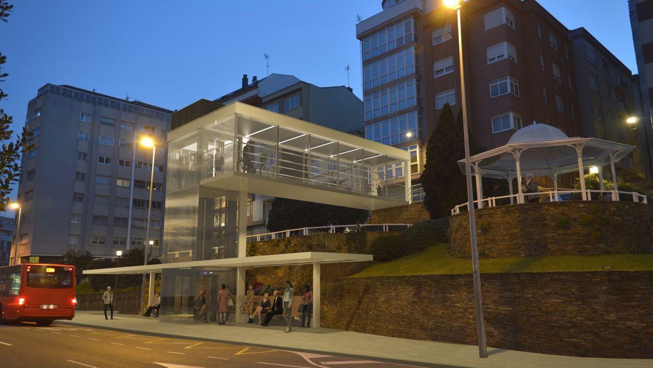 reputable site 7e52f cf86a La Marea promete un ascensor entre la Avenida da Pasaxe y la calle  Ortigueira