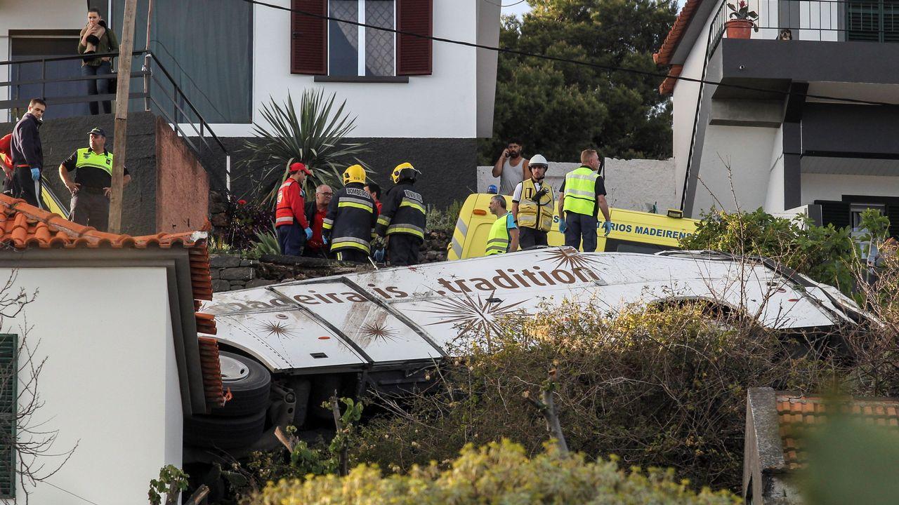 Al menos 28 muertos en un accidente de un autobús turístico en Madeira