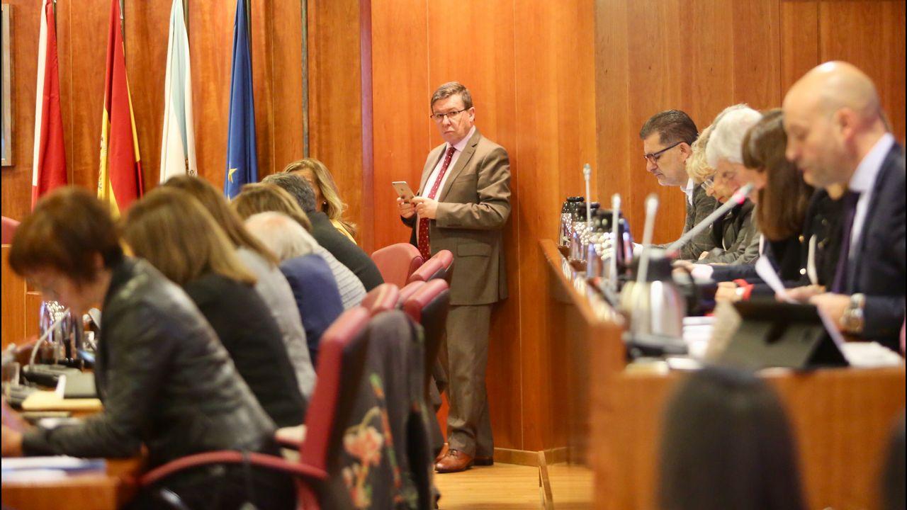 Bronca sesión plenaria preelectoral en Vigo