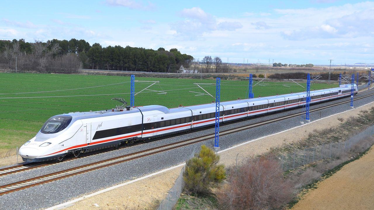 El tren que puede tener Galicia: más de 500 plazas y una velocidad de 330 km/h