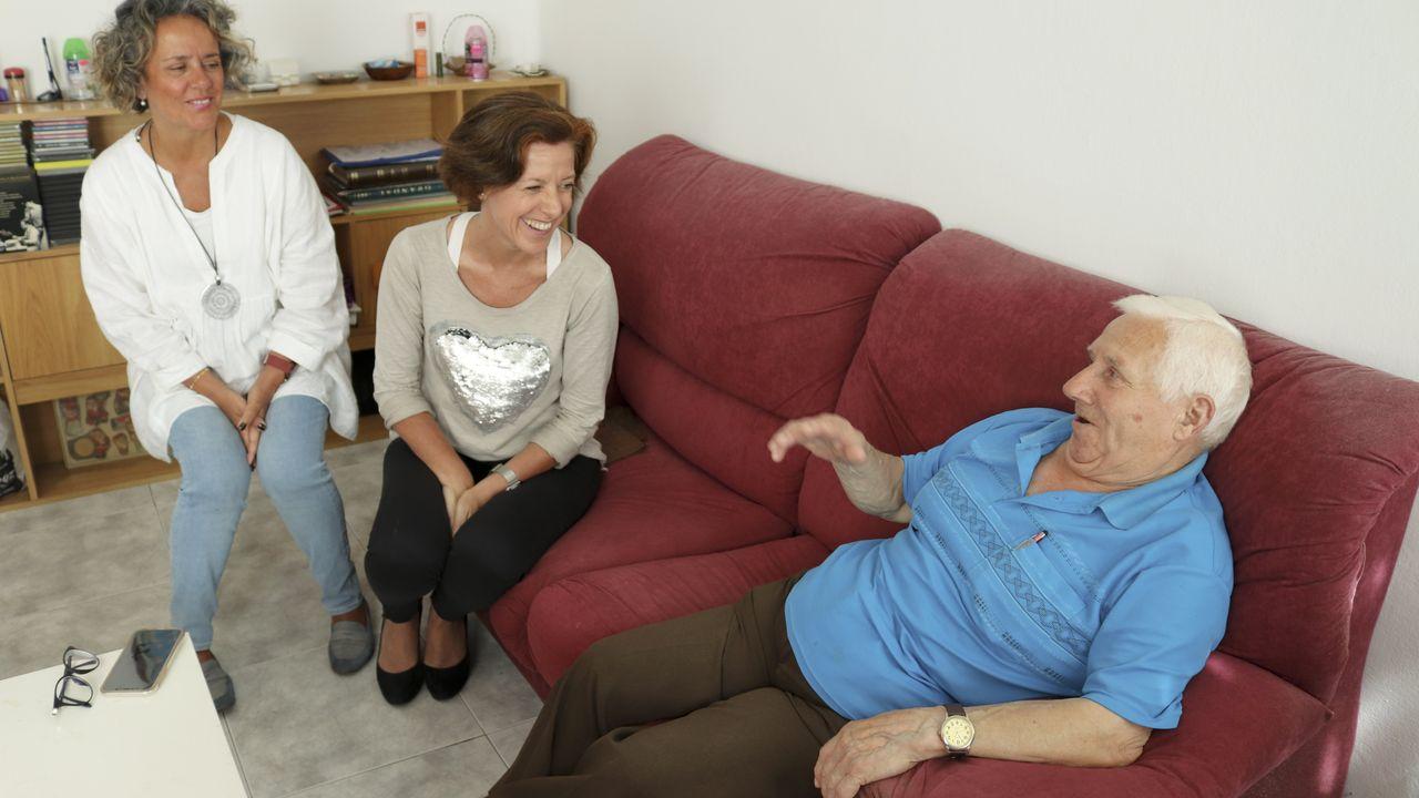 Una entidad necesita mecenas para ayudar a los mayores que viven solos