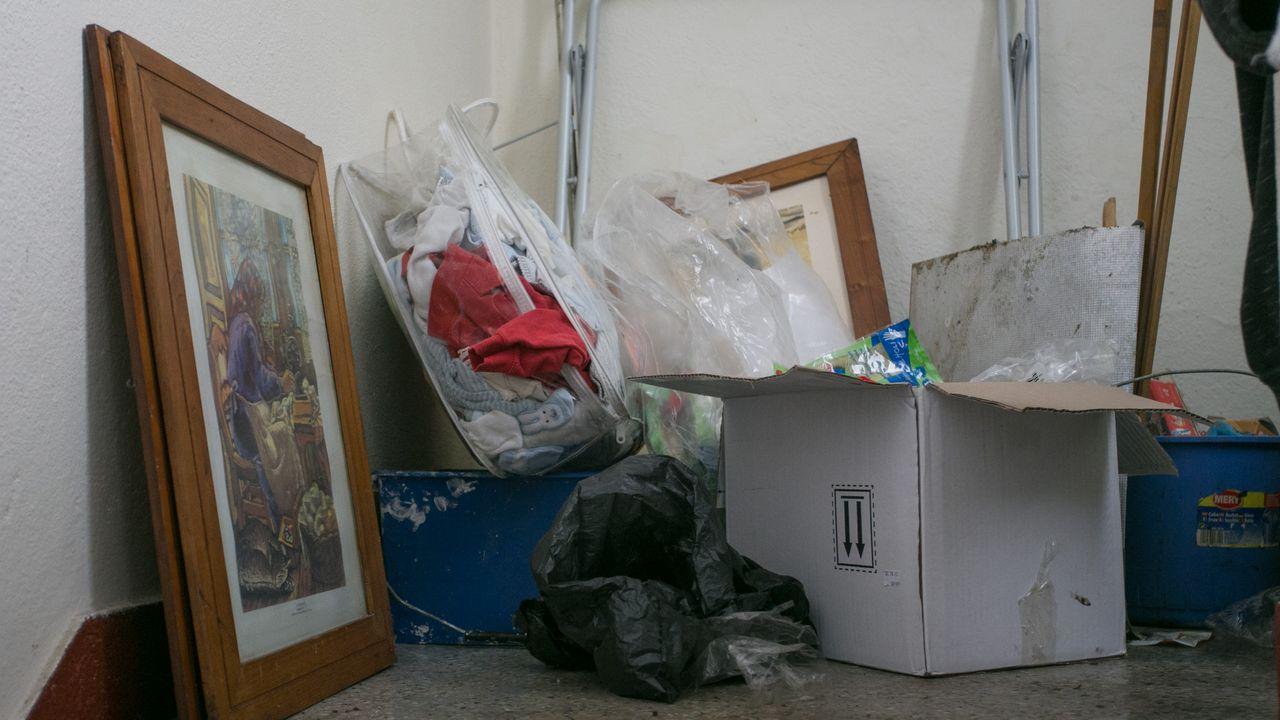 El bebé maltratado de Lugo y su vida en medio de la basura