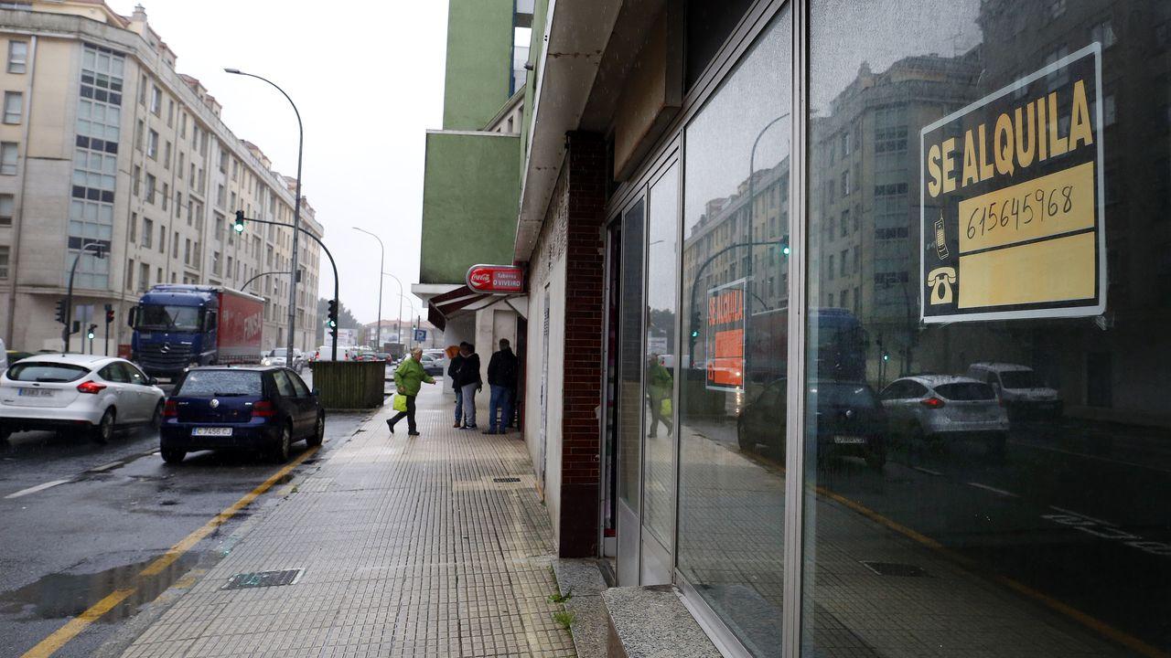 La anemia comercial se abate sobre el área norte de Vilagarcía
