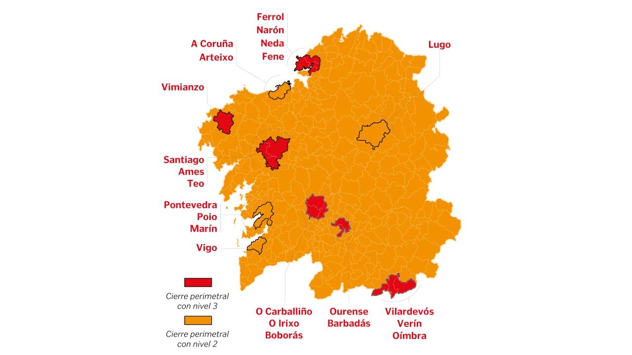 Estas Son Las Nuevas Restricciones En Galicia