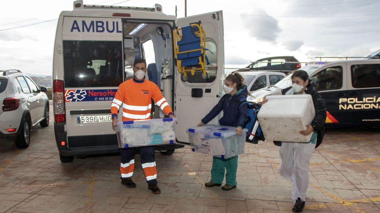 El 17 % de las vacunas administradas en Galicia son ya segundas dosis