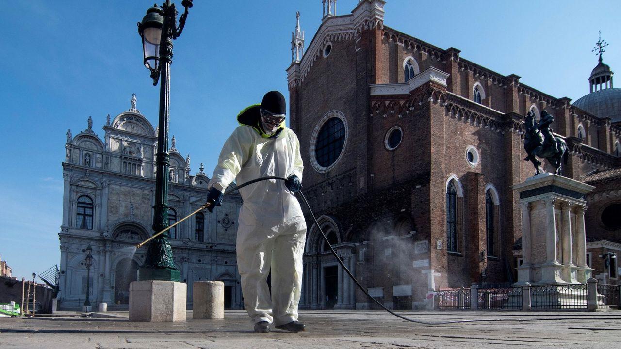 Italia: regreso a la zona cero de Europa