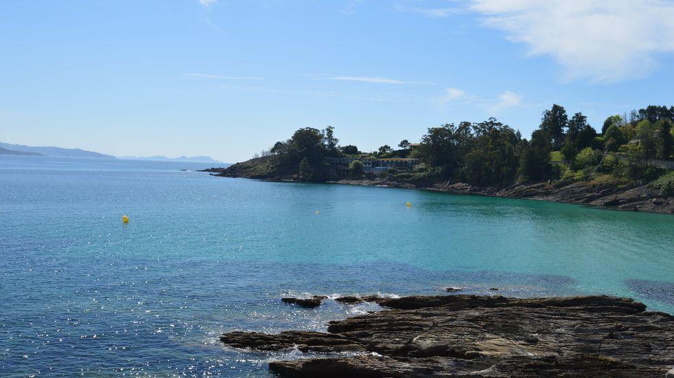 Sanxenxo ofrece las dos primeras rutas de aguas abiertas del norte de España