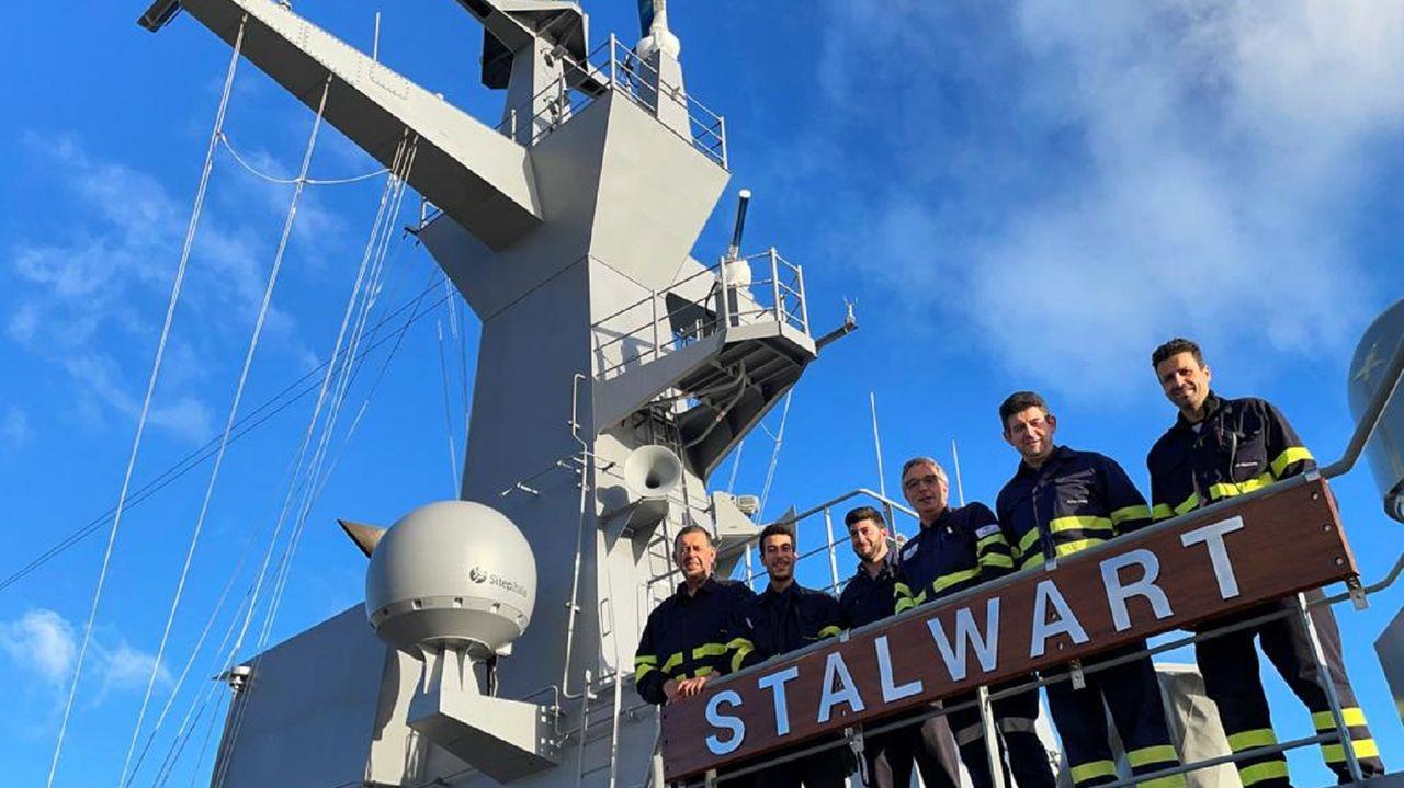 El último buque construido en Ferrol ya está en Australia