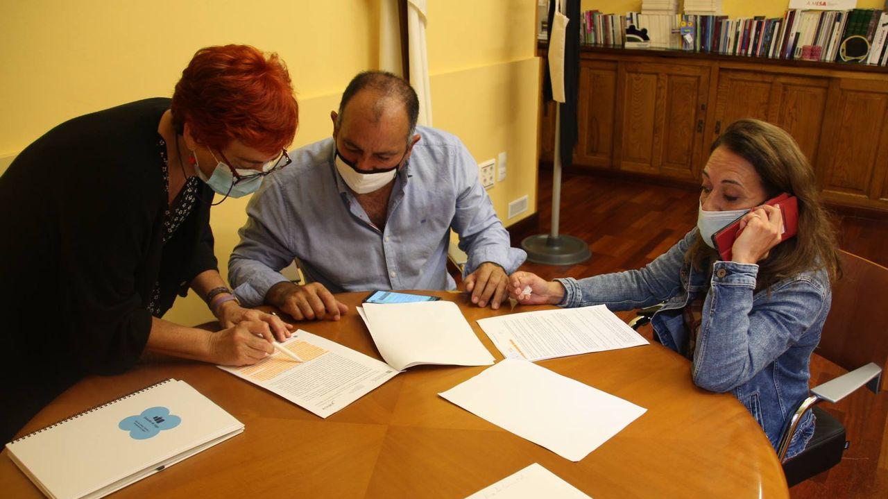 El Bloque trasladó a los empresarios de atracciones que el protocolo de la Xunta impide las barracas en el San Froilán