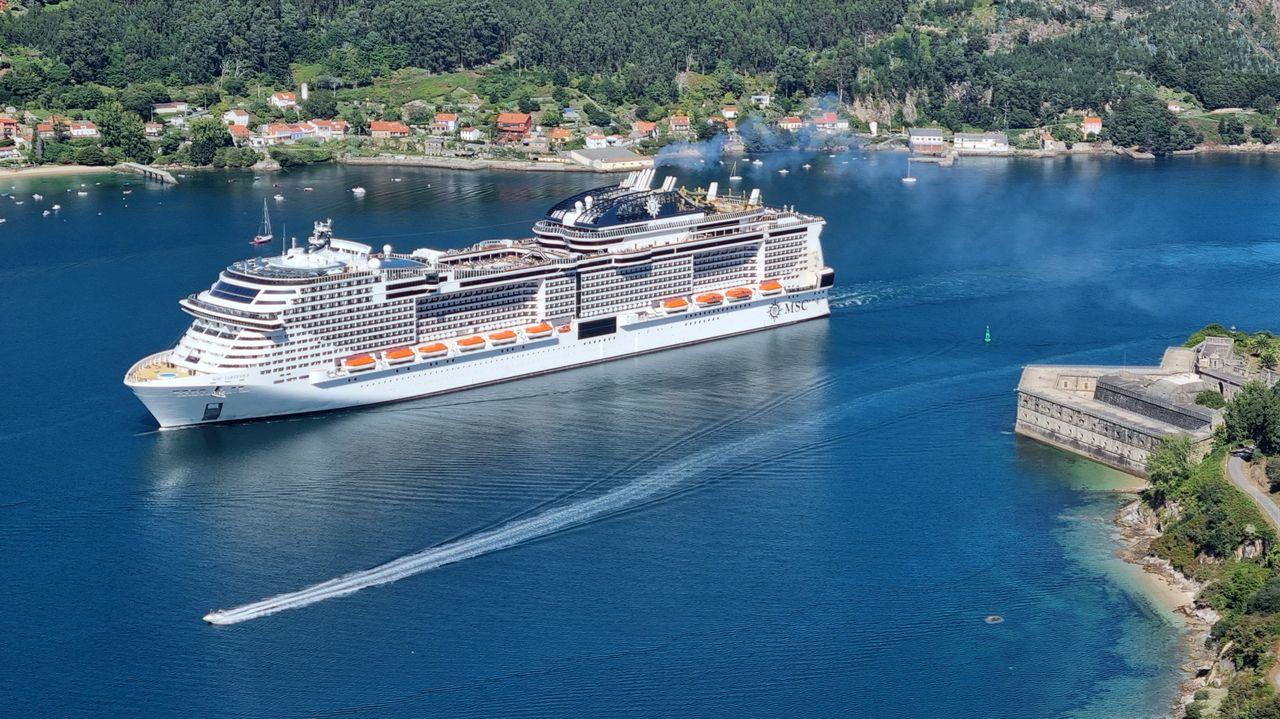La ciudad flotante del Virtuosa deja paso hoy al crucero Amera