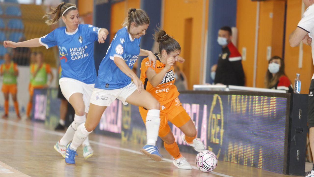 Las reinas naranjas no fallan y empiezan en Liga goleando al Melilla por 4-0