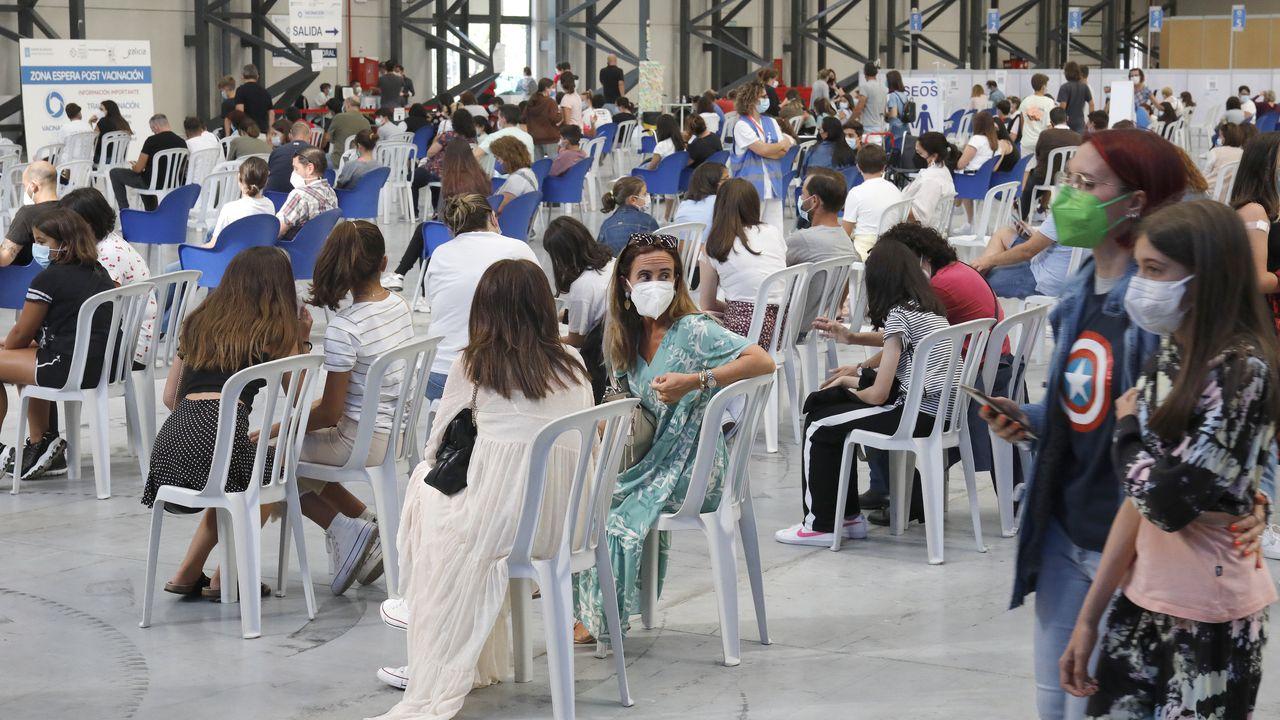 Galicia administra el 100 % de las vacunas contra el covid recibidas