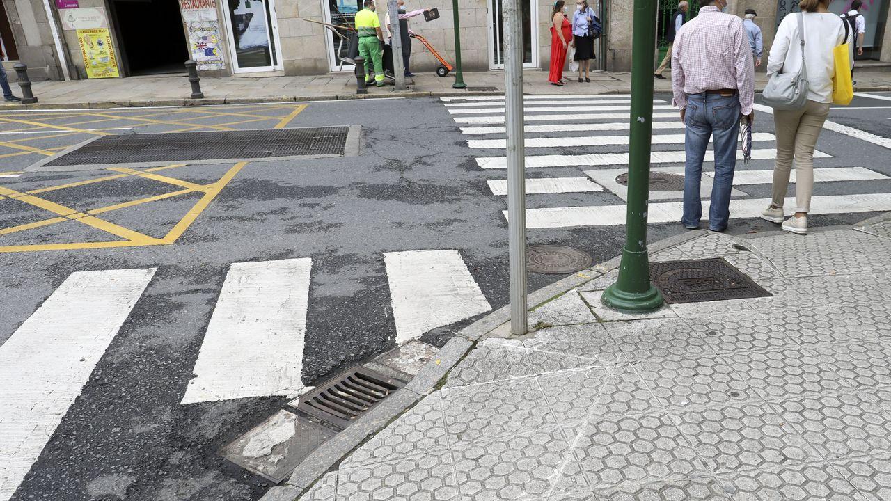 Santiago, A Coruña y Ames lideran las alertas de barreras para discapacidades