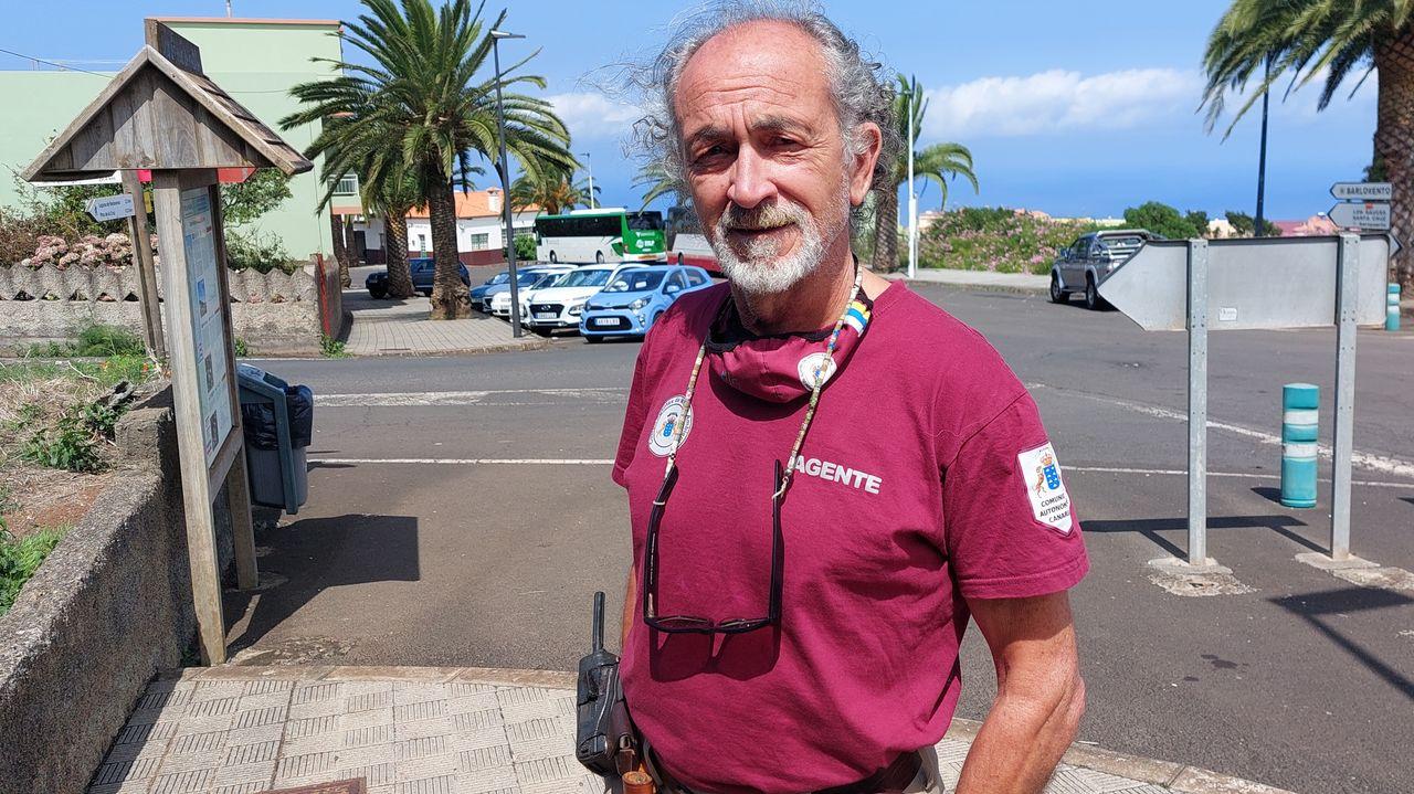 Un agente forestal gallego en La Palma: «Hay quien vive en sitios peligrosos, por especulación o por tradición»