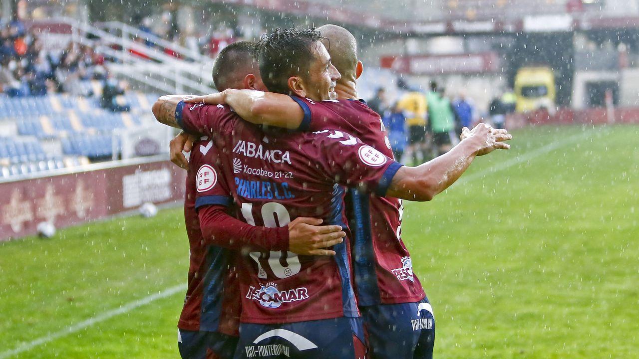 Charles y Rufo, el revulsivo del Pontevedra CF para alcanzar el cielo