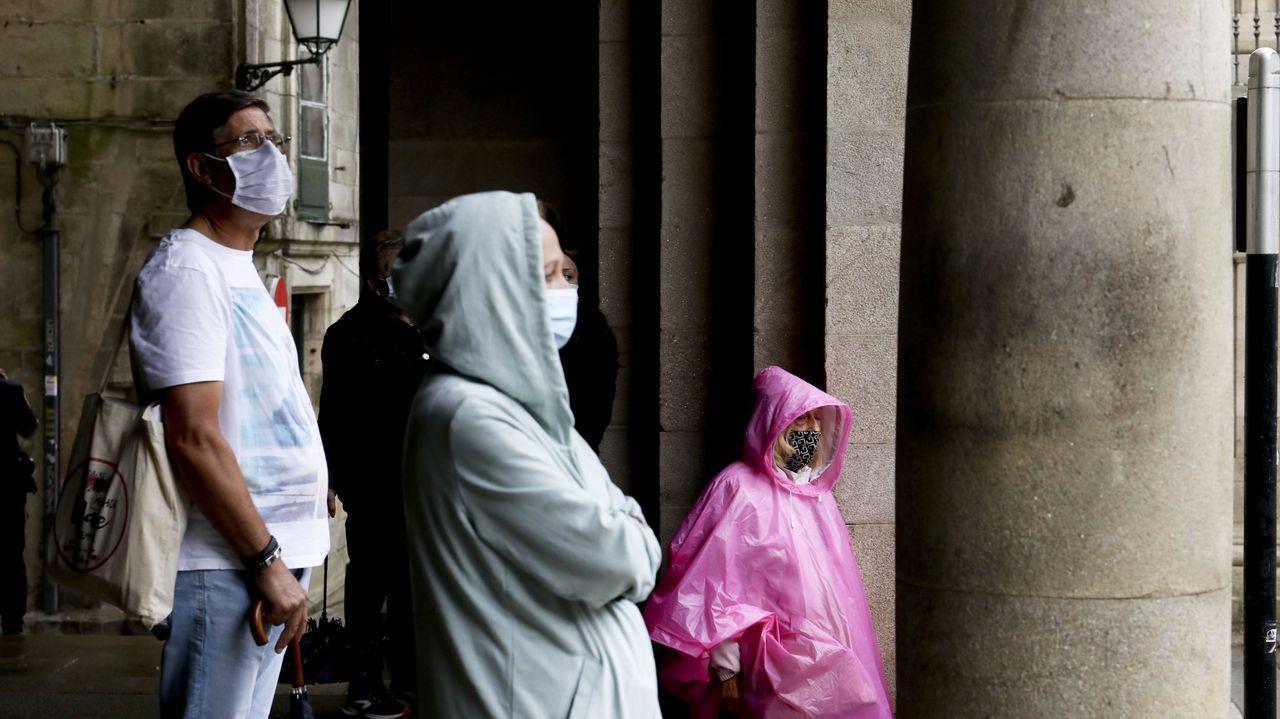 La atmósferaactiva elmodo otoñal en Galicia