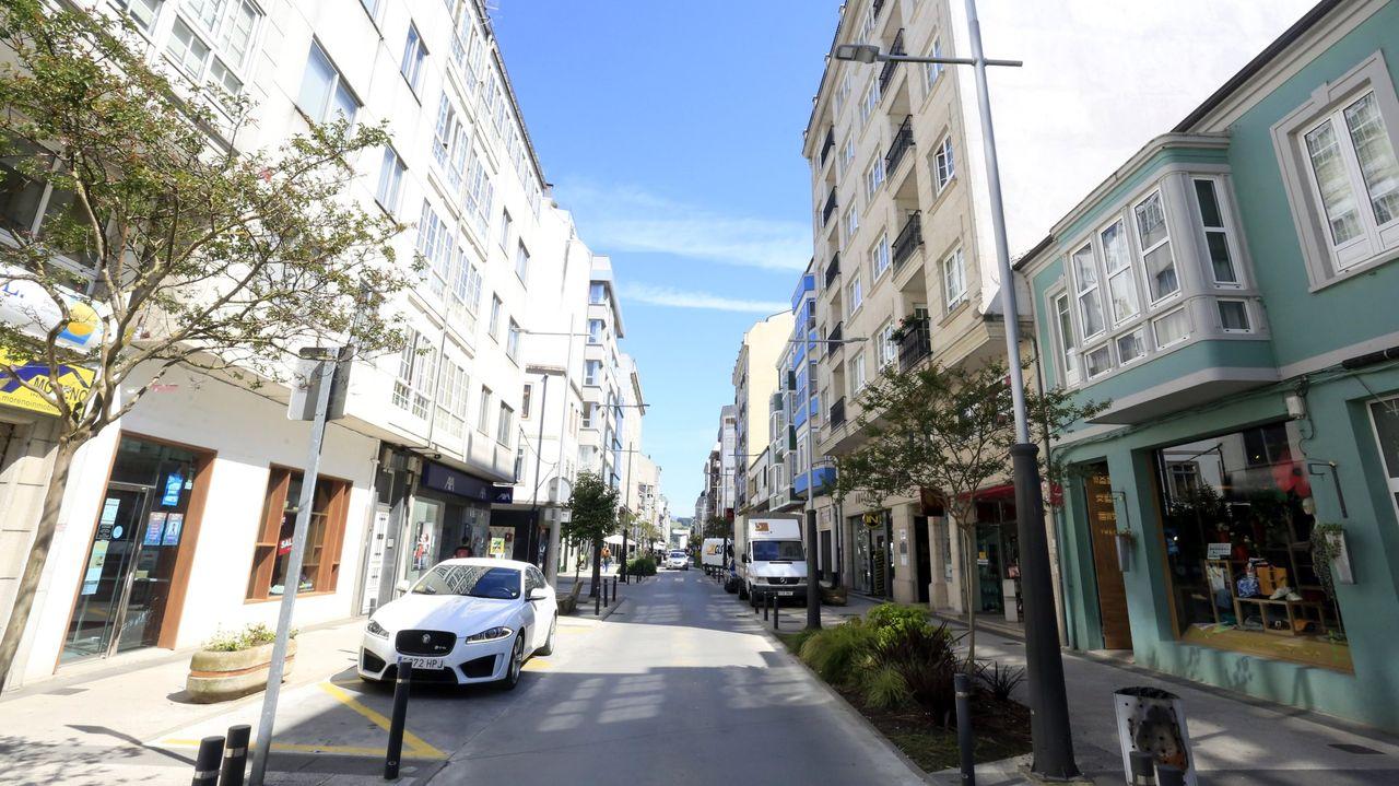 El Concello de Sarria aprobará «si ou si» llamar Rúa da Liberdade a la calle Calvo Sotelo