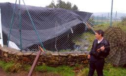 El proyecto también incluye la reposición de la cubierta provisional que resultó dañada a causa de l