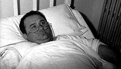 Ramón Seoane, único superviviente del naufragio de «La Isla»