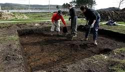Las catas arqueológicas comenzaron a mediados de febrero y están a punto de terminar