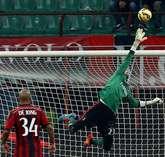El meta gallego volvió a jugar a principios de noviembre tras su lesión.