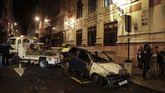Arde un coche en plena calle del Orzán