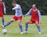 Jordan e Iván Pérez en un entrenamiento en San Lázaro.