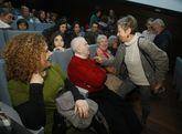 Benedicto, una leyenda de la canción galega, recibió ayer el homenaje de los isleños.
