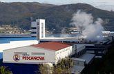 Instalaciones de Pescanova en Chapela, en donde tienen sede 7 de las 10 filiales en concurso.