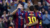 Messi, Neymar y Suárez, ante el Getafe