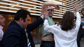 Afectados por la hipoteca intentan reventar el mitin de Rajoy