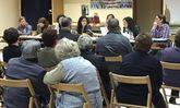 Los comuneros de Erbecedo se reunieron en la tarde-noche de ayer en el local social.